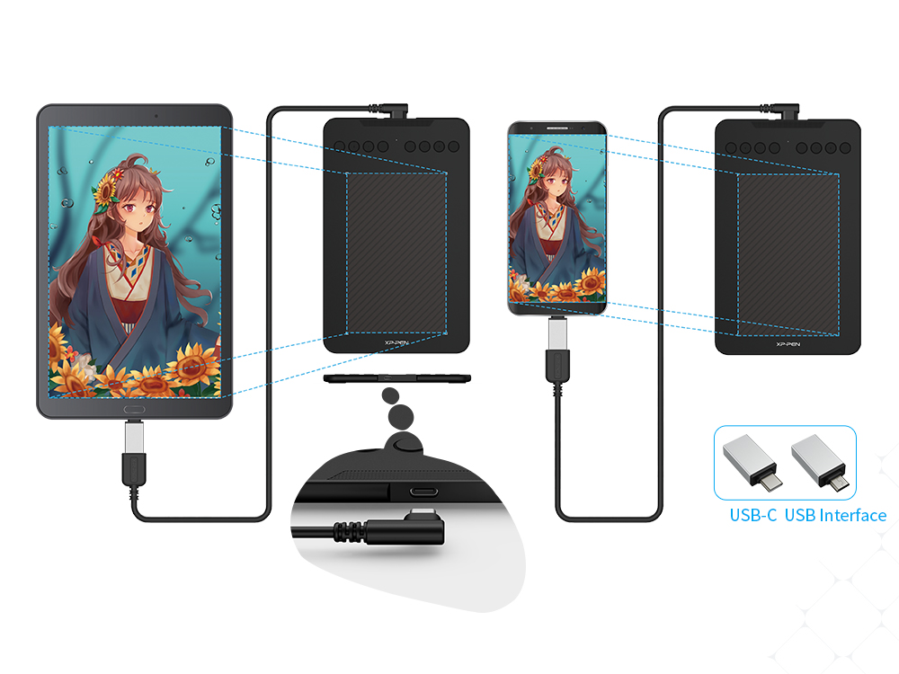 DecoMini7 connection to tablet and smartphone