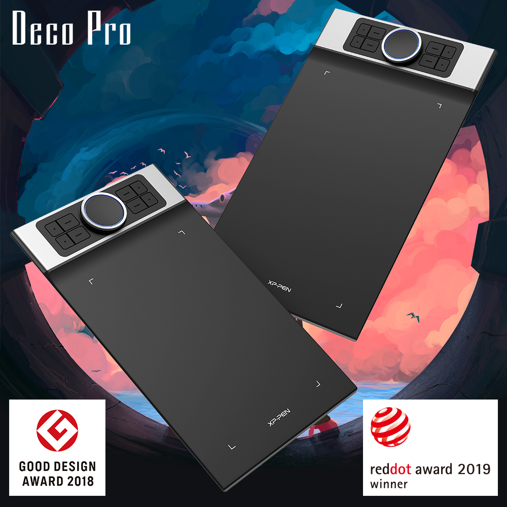 Deco Pro size m and s with Good Design Award 2018 and reddot award 2019