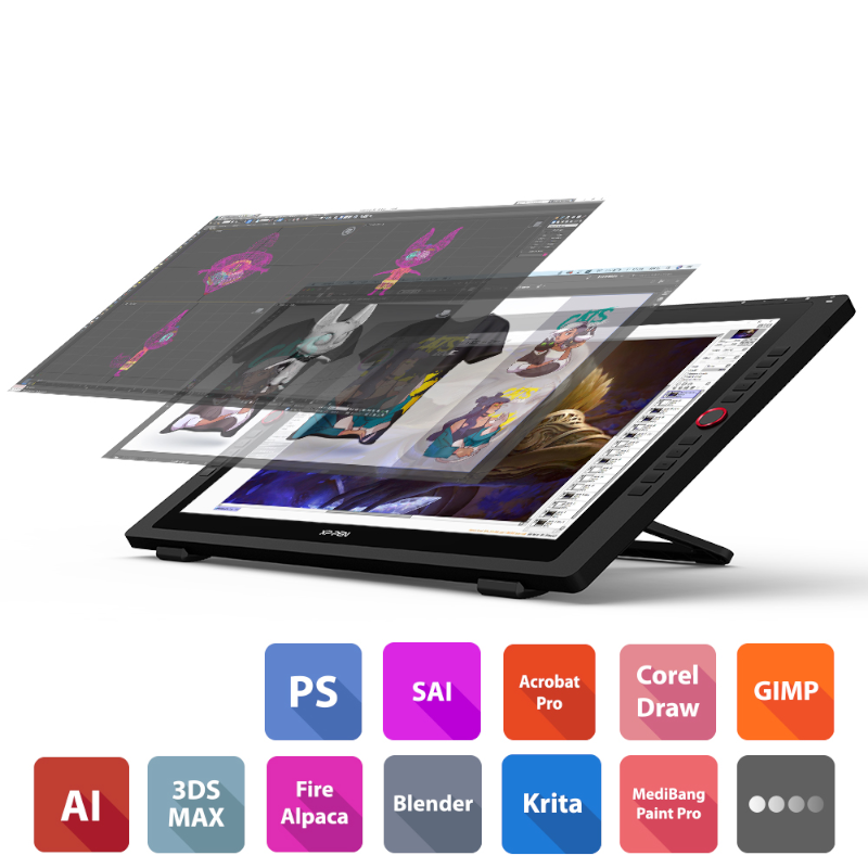 Artist-24-Pro compatible software products